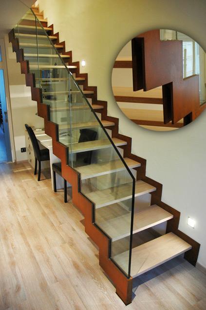 Escaleras Acero Córten