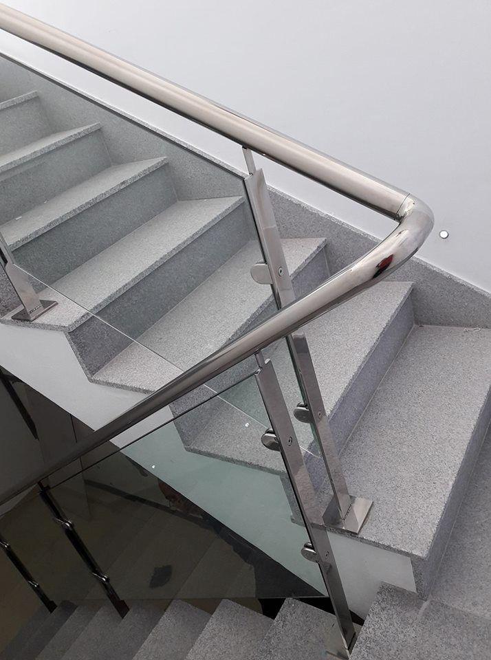 Barandas de aluminio con Cristal