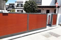Puerta Candela Corredera montada en Costa Teguise