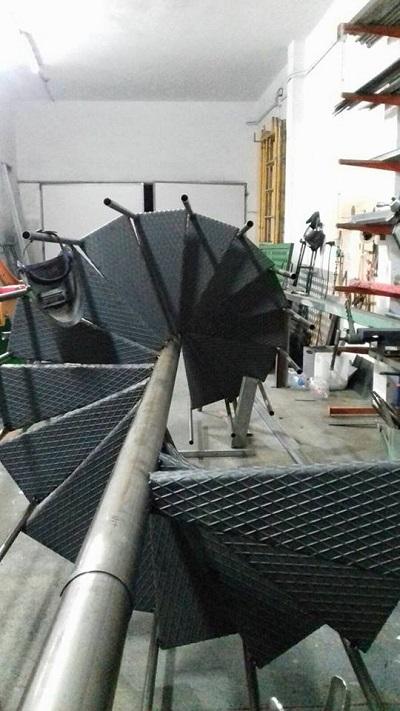 Escaleras de Caracol - Construcción 4
