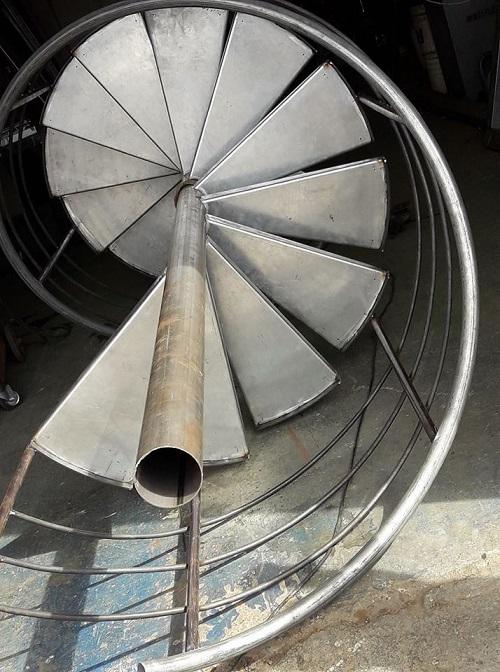 Escaleras de Caracol - Construcción