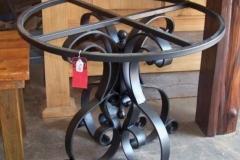 mesa en acero forjado 2