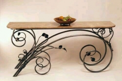 mesa en acero forjado 5