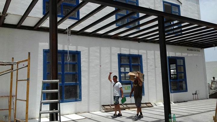 Construcción de Pérgolas