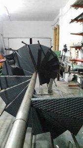 Trabajos con Escaleras de caracol en Arrecife